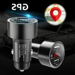 Car GPS Tracker Locator Tracking Device Dual USB Fast Charge