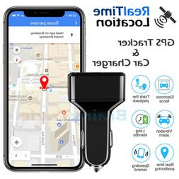 GPS Tracker Real Time Vehicle Tracking Device USB Charger fo