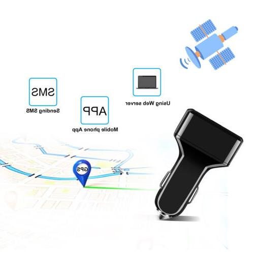 GPS Vehicle Tracking Device USB Charger Truck Locator
