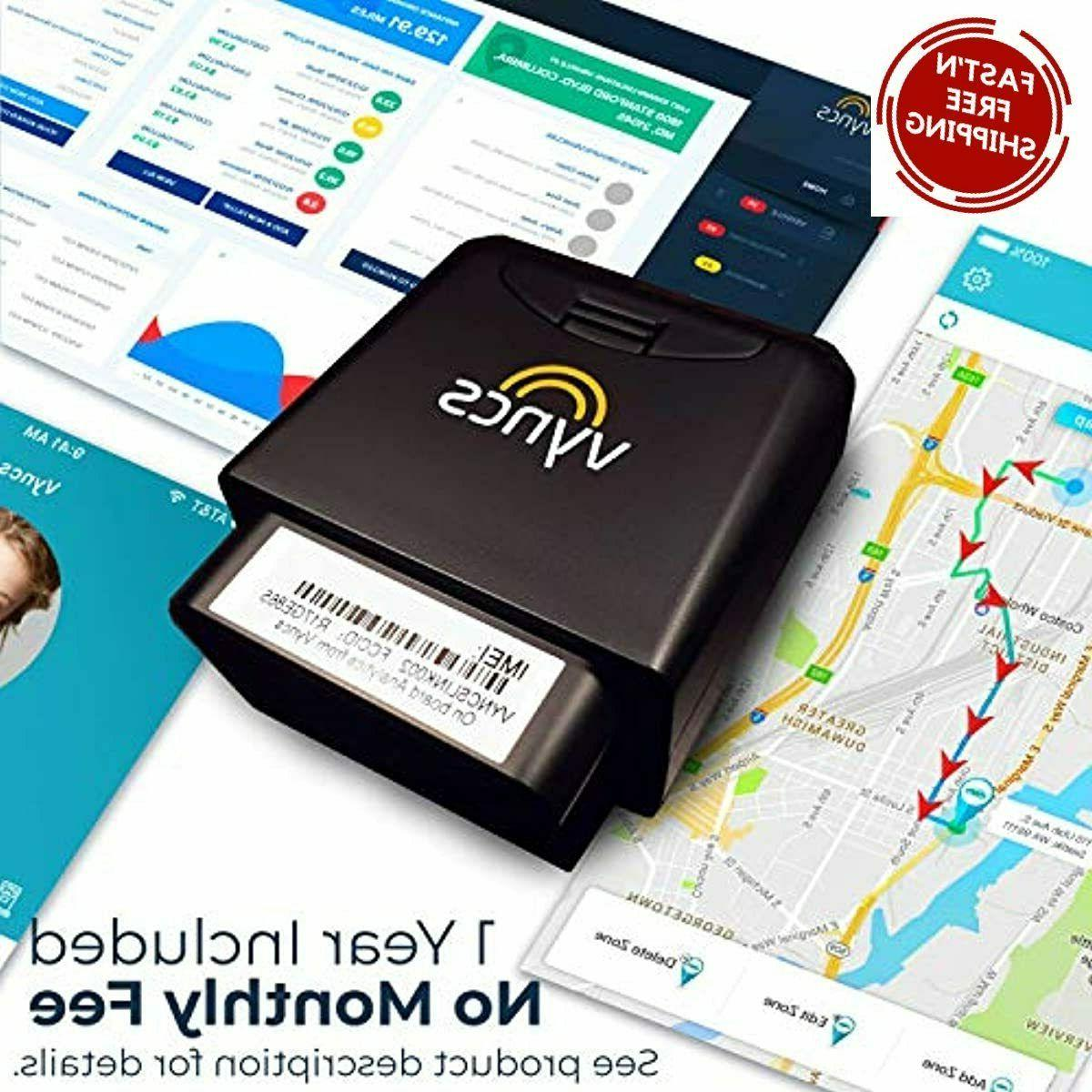 car trucking gps no monthly fee obd