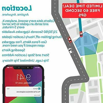 GPS for Vehicles Vyncs Monthly Real Yr Data Plan