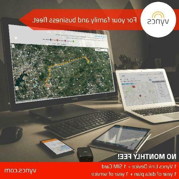 Vyncs Tracker Monthly Track your location Real