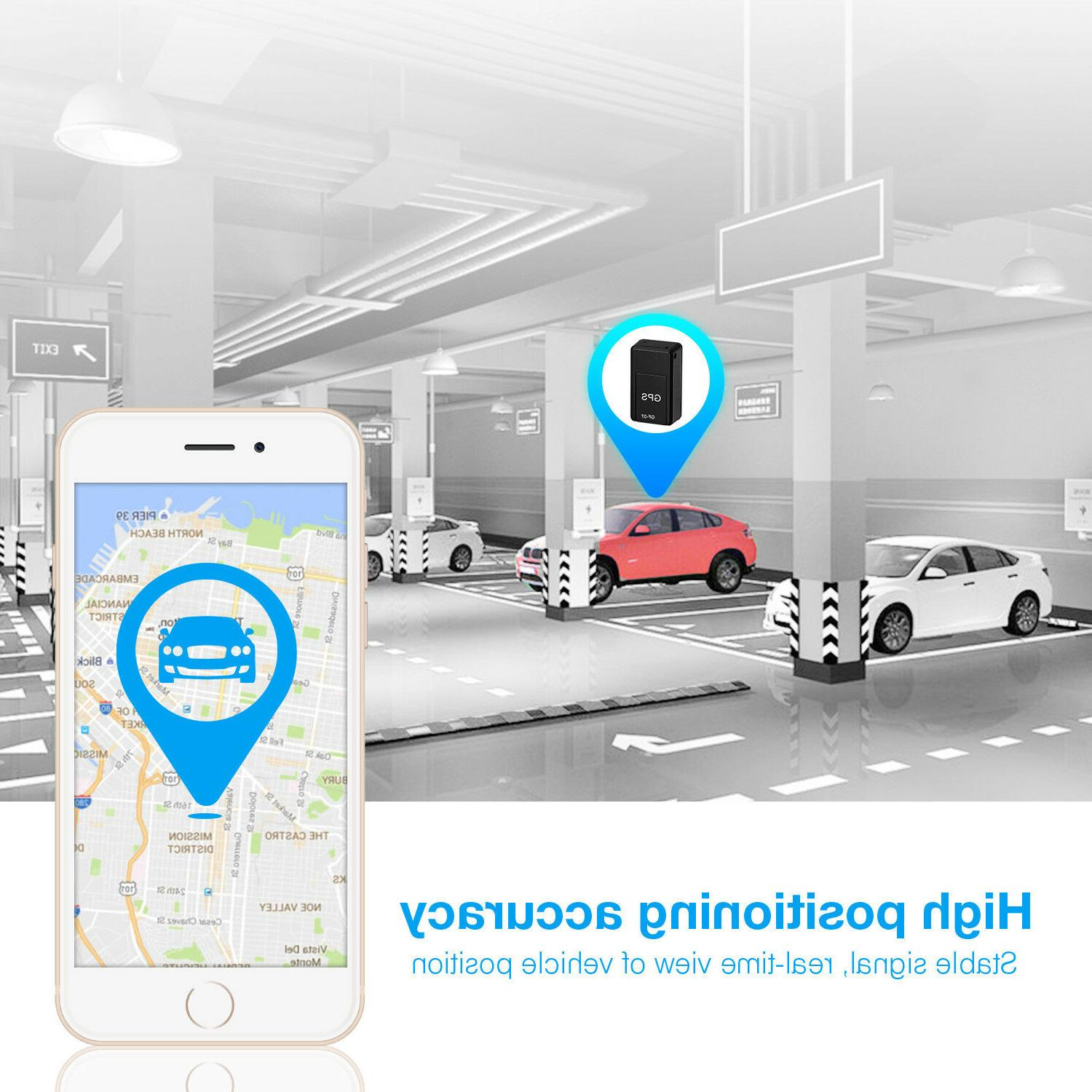 Mini Car Truck Magnetic GSM Tracking