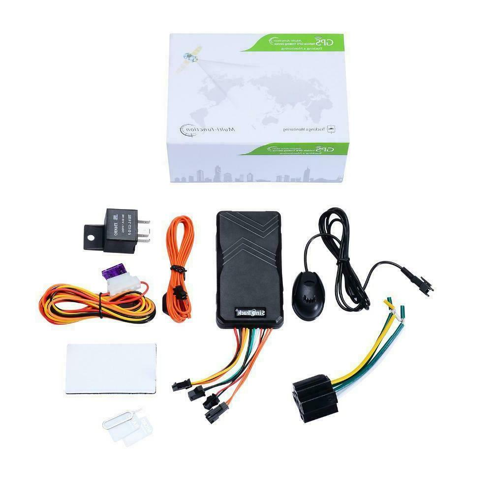 Sinotrack Gsm Tracker Motorcycle Vehicle Tracking