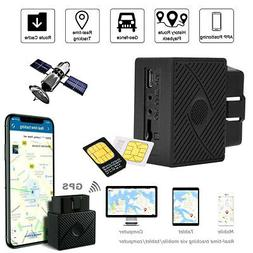 OBD 2 GPS Tracker Real Time Vehicle Tracking Locator OBDII D
