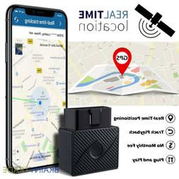 OBD2 GPS Tracker Real Time Vehicle Tracking Device OBD II fo
