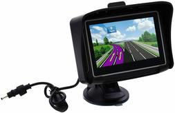 AutoLover® 4.3 inch Waterproof Motorcycle GPS Navigation Mo